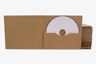 CD DVD Digifile aus umweltfreundlichem Karton