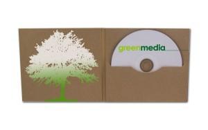 CD DVD im Digifile aus Kraftkarton