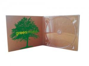 CD DVD im Digipak aus Kraftkarton